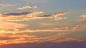 ουρανός 1 βραδιού Στοκ Φωτογραφία