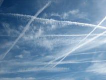 ουρανός 9 σύννεφων Στοκ εικόνες με δικαίωμα ελεύθερης χρήσης