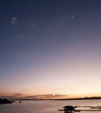 Ουρανός BrasÃlia Στοκ Εικόνες
