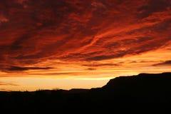 Ουρανός Kanab Στοκ φωτογραφία με δικαίωμα ελεύθερης χρήσης