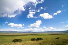 ουρανός ngorongoro Στοκ φωτογραφία με δικαίωμα ελεύθερης χρήσης
