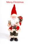 ουρανός santa του Klaus παγετού Χριστουγέννων καρτών τσαντών διακόσμηση Χριστουγέννων, έννοια διακοπών Στοκ εικόνες με δικαίωμα ελεύθερης χρήσης