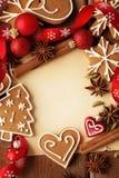 ουρανός santa του Klaus παγετού Χριστουγέννων καρτών τσαντών Στοκ φωτογραφίες με δικαίωμα ελεύθερης χρήσης