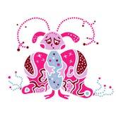 Ουσία πλασμάτων τεράτων ο ιός όπως την πεταλούδα βακτηριδίων Στοκ φωτογραφίες με δικαίωμα ελεύθερης χρήσης
