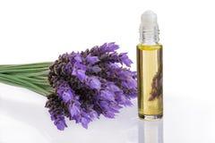 ουσιαστικό lavender λουλου&del Στοκ Εικόνες