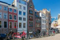 Ουτρέχτη Παλαιό κανάλι πόλεων Στοκ Εικόνες
