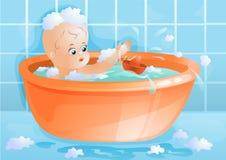 λουτρό μωρών Ελεύθερη απεικόνιση δικαιώματος