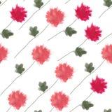 λουλούδια ι συντακτών watercolor εικόνων ζωγραφικής επίσης corel σύρετε το διάνυσμα απεικόνισης Στοκ Εικόνες