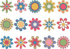 λουλούδια που τίθεντα&iot Στοκ Εικόνες