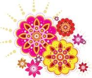 λουλούδι άνευ ραφής απεικόνιση αποθεμάτων