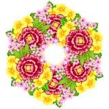 λουλούδι ανασκόπησης φρέσκο Στοκ Φωτογραφίες