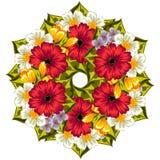 λουλούδι ανασκόπησης φρέσκο Στοκ Φωτογραφία
