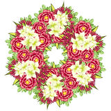 λουλούδι ανασκόπησης φρέσκο Στοκ εικόνα με δικαίωμα ελεύθερης χρήσης