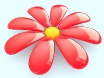 λουλούδι, τρισδιάστατο Στοκ Φωτογραφίες