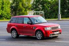 12$ου το 2011 6ο καναρινιών αυτοκινήτων Λονδίνο motorexpo Δευτέρας Ιουνίου μια Κυριακή Range Rover στην αποβάθρα Στοκ Φωτογραφία