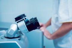 Οφθαλμικός εξοπλισμός ιατρικός Στοκ Φωτογραφία
