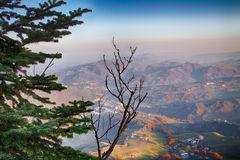 λοφώδης επαρχία το χειμώνα στοκ φωτογραφίες με δικαίωμα ελεύθερης χρήσης