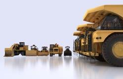 Οχήματα γήινων μετακινούμενων Στοκ φωτογραφία με δικαίωμα ελεύθερης χρήσης