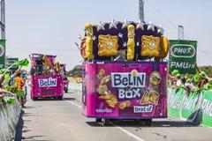 Οχήματα κιβωτίων Belin Στοκ Εικόνες