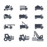 Οχήματα μεταφορών και κατασκευής Στοκ φωτογραφίες με δικαίωμα ελεύθερης χρήσης