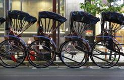 Οχήματα που οδηγούνται από την ανθρώπινη δύναμη στην Ιαπωνία Στοκ Φωτογραφία