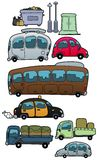 οχήματα Στοκ φωτογραφίες με δικαίωμα ελεύθερης χρήσης