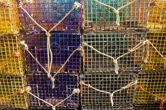 δοχεία αστακών του Μπράιτ&om Στοκ φωτογραφία με δικαίωμα ελεύθερης χρήσης