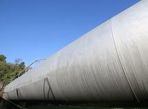 δοχείο πίεσης για την αποθήκευση του φυσικού αερίου στο produ καυσίμων Στοκ φωτογραφία με δικαίωμα ελεύθερης χρήσης