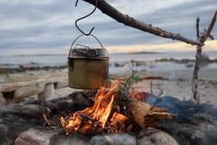 δοχείο πυρκαγιάς Στοκ φωτογραφία με δικαίωμα ελεύθερης χρήσης