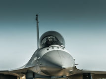 Οχιά F-16 Στοκ φωτογραφία με δικαίωμα ελεύθερης χρήσης