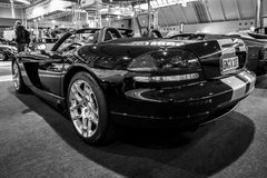 Οχιά srt-10, 2008 τεχνάσματος αθλητικών αυτοκινήτων Στοκ φωτογραφίες με δικαίωμα ελεύθερης χρήσης
