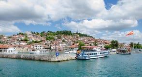 Οχρίδα στη Μακεδονία Στοκ εικόνα με δικαίωμα ελεύθερης χρήσης