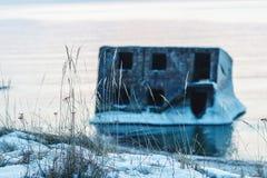 Οχυρά το χειμώνα Στοκ Εικόνες