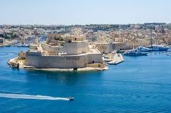 Οχυρό Άγιος Angelo σε Birgu, Μάλτα Στοκ Εικόνες