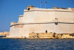Οχυρό Άγιος Angelo, Birgu, Μάλτα Στοκ εικόνες με δικαίωμα ελεύθερης χρήσης