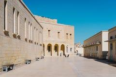 Οχυρό Άγιος Angelo, Birgu Vittoriosa Στοκ φωτογραφία με δικαίωμα ελεύθερης χρήσης