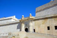 Οχυρό Άγιος Angelo, Vittoriosa Στοκ εικόνες με δικαίωμα ελεύθερης χρήσης