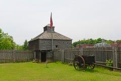 Οχυρό δυτικό στο Αουγκούστα, ΕΓΩ, ΗΠΑ στοκ εικόνα