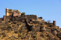 οχυρό Ινδία kumbhalgarh στοκ φωτογραφίες