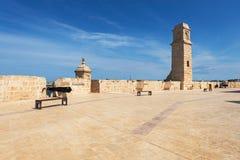 οχυρό Μάλτα Άγιος του Angelo Στοκ Φωτογραφίες