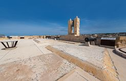 οχυρό Μάλτα Άγιος του Angelo Στοκ Φωτογραφία