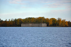 Οχυρό Μοντγκόμερυ, εκτός κράτους Νέα Υόρκη, ΗΠΑ Στοκ Φωτογραφία