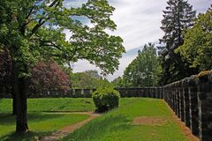 οχυρό Ρωμαίος saalburg Στοκ Εικόνα