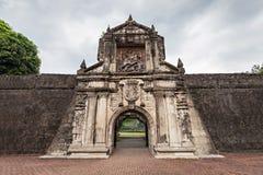 οχυρό Σαντιάγο στοκ εικόνα