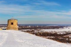 Οχυρό σε έναν λόφο στοκ εικόνα με δικαίωμα ελεύθερης χρήσης