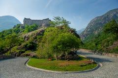Οχυρό στο φρούριο στοκ φωτογραφίες