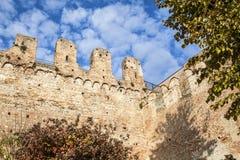 Οχυρό της περιτοιχισμένης πόλης Cittadella Στοκ Φωτογραφίες