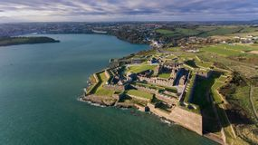 Οχυρό του Charles Kinsale Φελλός κομητειών Ιρλανδία στοκ εικόνες