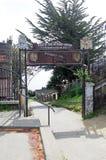 Οχυρό του San Antonio σε Ancud, νησί Chiloe, Χιλή στοκ εικόνες με δικαίωμα ελεύθερης χρήσης