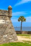 Οχυρό του ST Augustine, Castillo de SAN Marcos στοκ φωτογραφίες